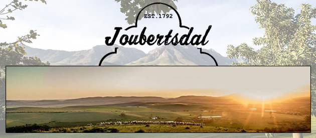 JOUBERTSDAL COUNTRY ESTATE, SWELLENDAM (17km) ASHTON (30km)